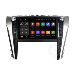 Wholesale Camry Inch Touch Screen - Android 6.0 7.1 4+32GB Car DVD Player GPS Navigation for TOYOTA CAMRY 2015 with Radio BT USB AUX Camera Map Canbus