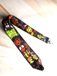 железный челнок Скидка 10pcs/20pcs/30pcs/50pcs Superheros hulk iron man Neck Strap Lanyard Mobile Phone Key Chain ID Badge Key Chains K308