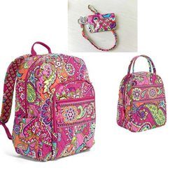 burgundy backpack Promo Codes - NWT Campus Tech Backpack Backpack School Bag + Lunch Bag+Card bag