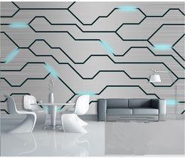 2019 tableros de pared 3d Foto personalizada personalidad avanzada papel tapiz 3D estéreo tecnología moderna placa de circuito herramientas fondo pared papel tapiz 3d rebajas tableros de pared 3d