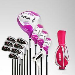 Argentina Club de golf PGM Golf Club VICTOR para mujeres Conjunto completo de palos, estándar (palos de 12 piezas con bolsa de golf de colores aleatorios) Suministro