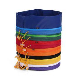8pcs / set Giardino che coltiva le borse non tessute del tessuto del fiore Vasi rotonde del contenitore della radice del sacchetto del sacchetto rotondo della piantagione di verdure da
