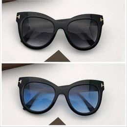 Янтарные очки онлайн-TF0612 Big-butterfly женские поляризованные солнцезащитные очки size51-21 Италия-импортированные планка янтарные солнцезащитные очки оригинальный чехол женщины