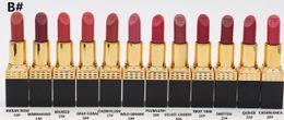 Новый Губная помада для макияжа 3 г 12 цветов Помада для губ с антипригарным покрытием Помада для губ Бренд Make up rouge a levre Lip Kit от