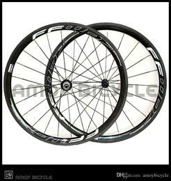 ffwd f4r kohlenstoffräder Rabatt 38mm Tiefe 25mm breite Carbonfelgen mit FFWD F4R Malerei Carbonlegierung Räder glossy Matte Fahrrad Laufradsatz frei shippin