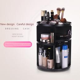 Omnipotent Mode Portable Voyage 360 degrés rack cosmétique en plastique boîte à cosmétiques cosmétiques boîte de stockage soins de la peau produit rack de stockage ? partir de fabricateur