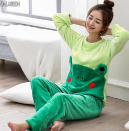 155c826138 4XL big size Winter Women Pajamas Homewear Women Flannel Thick Pajamas Warm  Sleepwear Pajama Sets Autumn Winter Sweet Fashion