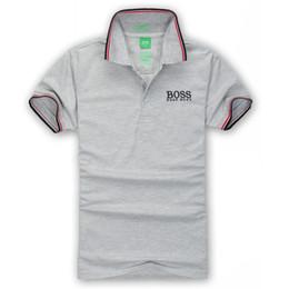 2019 camisa multi camo Nuevo polo de manga corta para hombre I 6519 BOS Polo de polo bordado para hombre Polo de lujo para hombre camisa de algodón de manga corta