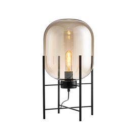 Wholesale Floor Shade - Modern Floor Lamp Brokis Standing Lamps for Living room Reading Lighting Loft Big Glass Shade Floor Standing Lights E27 Big Medium Small
