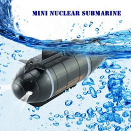 Wholesale motors for boats - 777-216 Mini Nuclear Submarine Wireless RC High Speed Racing Boat for Adventure Remote Control Toys with 40MHz Transmitter ~