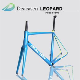 Wholesale Product Carbon - 2018 new product straight seatpost carbon road bike frame V brake for road bike Derailleur Di2 and Mechanical Finished Glossy
