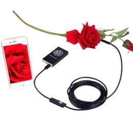 Telecamera Endoscopio IOS Android Wifi Endoscopio Wireless Endoscopio Ispezione Video Tubo 8 MM Obiettivo Mini WI-FI Camera 2M Cavo da corpo dottato indossato fornitori