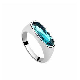 quilate diamante 18k Rebajas Austria anillo de cristal boda nupcial compromiso compromiso señora boda banquete joyería