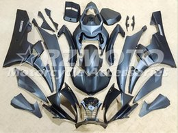 Wholesale R6 Fairing Kit Matte - 3 Free gifts New Injection Mold ABS Fairing Kits For YAMAHA YZF-R6 06-07 YZF600 2006 2007 R6 bodywork set Full matte black