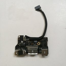dc macbook Promo Codes - Genuine Laptop I O USB Power Audio Board 820-3455-A DC Jack 923-0439 For MacBook