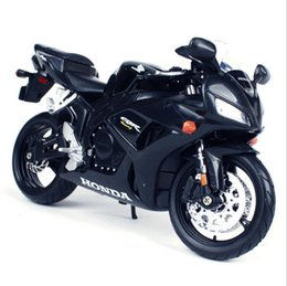 Wholesale Honda Cbr Gifts - 1:12 Honda CBR 1000RR Alloy Motorcycle Model Black Decorative Ornaments of Toys and Gifts