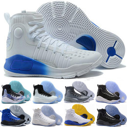 Wholesale Range Size - Stephen 4 More Dimes Dubs Buckets Fun Rings Magic Range Black White Men Basketball Shoes Athletics mens Sport shoe Sneaker size 40-46