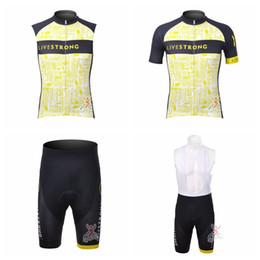 da203d4ff LIVESTRONG Cycling Short Sleeves jersey (bib) shorts Sleeveless Vest sets  New Hot Sale Mens Cycling ropa ciclismo Breathable Quick DryA41601