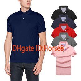 Wholesale new arrival shorts - New arrival Polo Shirt Men Camisa Solid Short Sleeve Summer Casual Camisas Polos t shirt Mens Free Ship