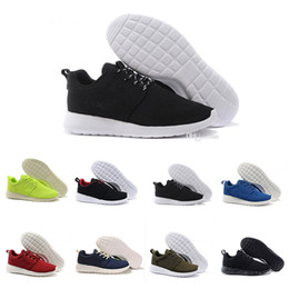 Wholesale cheap lightweight running shoes - Cheap 2018 Men Women London Running Shoes Green Black low Boots Lightweight Breathable London Olympic Trainers Sneaker EUR 36-45