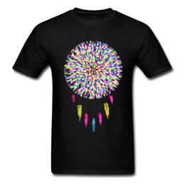 Dream Catcher Hip Hop Music T Shirt Tessuto di cotone marchio di moda Top Tees For Men 2018 Nuovo arrivo Tee Shirts Mens da