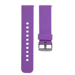 Cinturino cinturino da polso per orologio sportivo sostitutivo in silicone da 46mm per Samsung R380 / R381 / R382 per Pebble Time LG per orologio intelligente Cookoo 1/2 da guardare i ciottoli fornitori