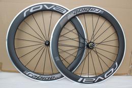 Wholesale alloy clincher rims - ROVAL Powerway R36 hubs Carbon road bike wheels clincher aluminum brake surface Carbon Wheels 50mm Rims carbon alloy wheelset cosmic slr