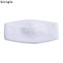 Wholesale Orange Sweatbands - High Quality Cotton Sweat Headband For Men Sweatband women Yoga Hair Bands Head Sweat Bands Sports Safety