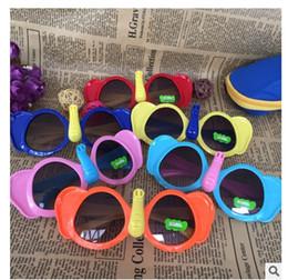 Wholesale Elephant Frame - Kids Boys Girls Colorful Sunglasses Little Elephant Style UV400 Protection Cute Shades Eyewear Sunglasses 1363