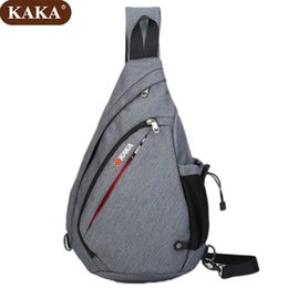 ea8490171d9d KAKA Chest Pack Crossbody Shoulder Bag Men Diagonal Package Rucksacks  Waterproof Nylon Bag 2018 Free Shipping D017