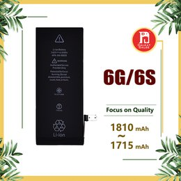 Wholesale Safe Wholesalers - For iphone 6 Battery 6S Built-in Internal Li-ion Battery Replacement 1810mah 1715mah Stable Flex Safe Package for IP 6 6s