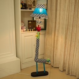 Wholesale Floor Lamp Remote Control - Cartoon lamp bedroom living room lamp floor lattice chicken gifts for children