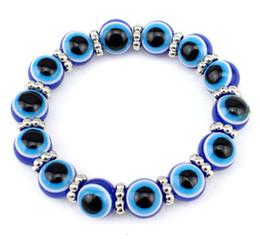 Lot de 6PCS perles acryliques Evil Eye Bracelet Elastic String Protéger les gens des regards envieux ? partir de fabricateur