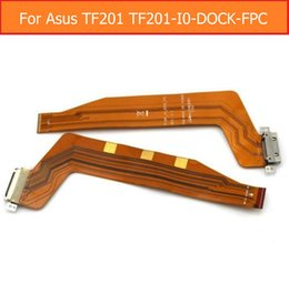 Wholesale Asus Dock - Wholesale- Sync Date Charging Port Flex Cable For Asus Tranformer Pad TF201 TF201-I0-DOCK-FPC USB Charger Connector Jack Dock Flex Cable
