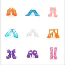 Chaussure de cuisson en Ligne-Plain Body Doll Accessoires De Chaussures Général Bottes Moyennes Et Courantes Chaussures À Talons Hauts Pour La Cuisson Gâteau Chaussure Accessoire 2 5sy W
