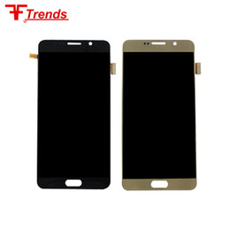 Wholesale Digitizer For Galaxy Note - Wholesale Price For samsung Galaxy Note5 Lcd module screen digitizer complete full replacement with stylus flex