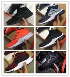 Wholesale Nice Lighting - 2018 Hot Sale Real Nice Quality Air PRESTO BR QS Breathe Mens and Womens Running Shoes Sneakers