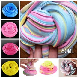 Wholesale Toy Drop Shipping - Kids Vent Clay Toys Fluffy Floam Slime Scented Stress Relief No Borax Kids Toy Sludge Toy Drop Shipping Stress Reliever
