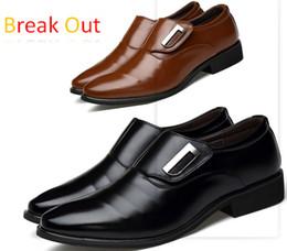 gli stili dei pattini maschii Sconti In stock! Scarpe da uomo in pelle PU di alta qualità, scarpe da sposa, scarpe da uomo, scarpe da uomo stile britannico Oxford per padre maschio XBK145