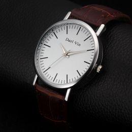 Orologio da uomo al quarzo da uomo, moda, da uomo, moda, coreano, orologio da regalo da