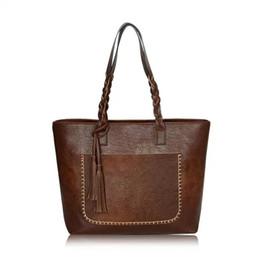 Wholesale Tassels For Handbags - Bags For Women 2018 Handbag Luxury Handbags Women Bags Designer Famous Brand Women Leather Handbags Messenger Bags Bolsos Mujer