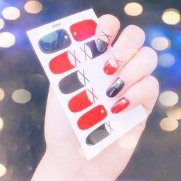 Herramienta de portada online-Nuevos diseños 3D cubierta completa transferencia de agua Nail Art Sticker Decal Slider Manicure Wraps Decal Tool Tip sticker manicure nail decoratio