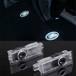 4pc Car LED light Door Projector For Land Rover Discovery 3//4 Evoque Range Rover