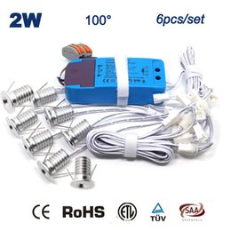 Wholesale 12v Mini Led Bulbs - 16pcs 2W 15mm Mini Dimmable Led Downlight 80Ra 180Lm Bed Room Home Party Lighting 2Watts Bulb Lighting 5 Years Warranty