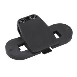 Wholesale Motorcycle Helmet Wholesale - New Black ABS Waterproof Bracket Clip Holder for Motorcycle Interphone Helmet hot selling