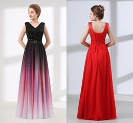 f3ab2f3cb38 2019 красивые макси платья Теперь вечерние платья когда-либо довольно  сексуальный V шеи шифон черный