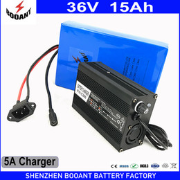 Wholesale e bike chargers - BOOANT 36v 15Ah E-Bike Battery for Bafang 800W Motor with 42v 5A Charger Scooter Lithium Battery 36v Free Duty to EU US