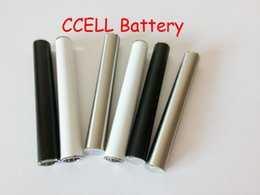 Wholesale Usb Rechargeable - Hotsell Rechargeable 510 Thread Vape Battery 350mah For CCELL M6T Thick Oil Vaperizer Buttonless Battery With USB Charger