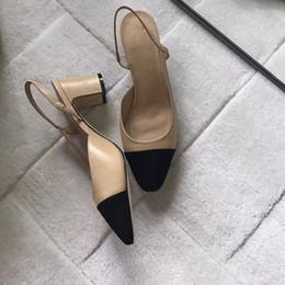 d64bcb8d1b Vente en gros- Chaussures Femme Chaussures De Soirée De Mode Femme Sexy  Talons Hauts Pompes D'été Sangle De Cheville Sandales Chaussures De Femmes  Grandes ...