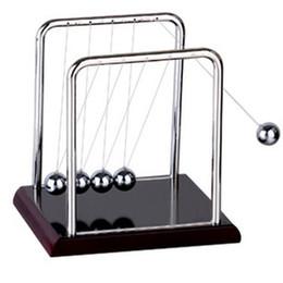 Amusement Amusement Développement Bureau Éducatif Jouet Cadeau Newtons Berceau Balancier En Acier Balle Physique Science Pendule ? partir de fabricateur